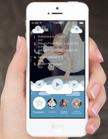 婴儿歌曲app开发 音乐启蒙的翅膀