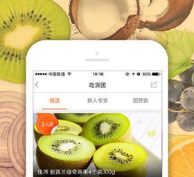 团购水果APP开发 买水果也能拼团