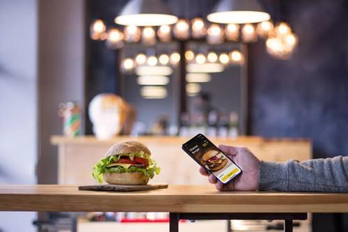 汉堡订购APP开发 美食的诱惑