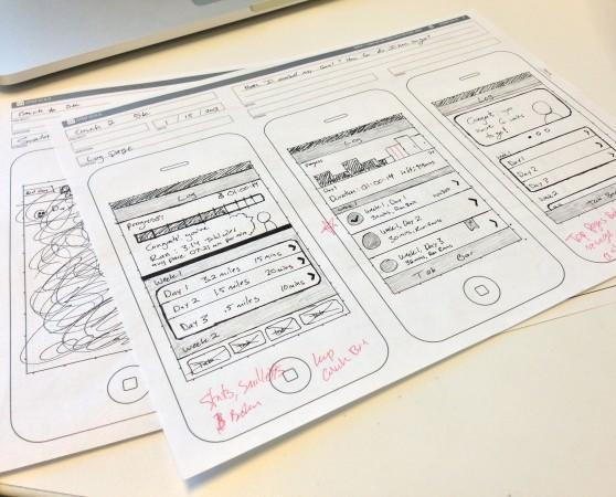 手机软件开发交互设计三段式图片